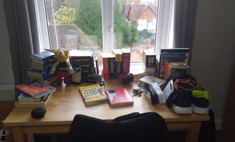 Jorik's desk